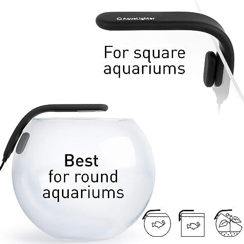 Best for round or square aquariums