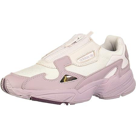Chaussures Femme Adidas Falcon Zip W, Violet Pãle/Violet Clair ...