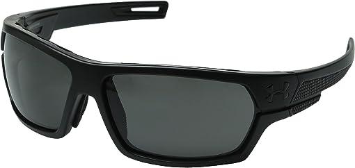 Ballistic Satin Black Frame/Gray Lens