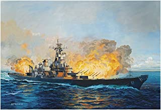 Revell Germany Battleship U.S.S. New Jersey (1982) Kit