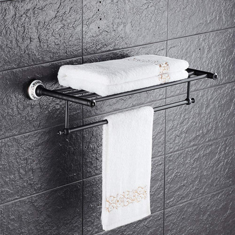 XUXUWA Black Ranking TOP1 Ancient Towel Rack Max 56% OFF White Blue Porcelain R and