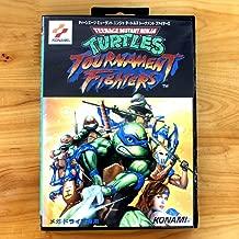 TopFor Teenage Mutant Ninja -Turtles Tournament Fighters 16 Bit Sega Md Game Card With Retail Box For Sega Mega Drive For Genesis US Shell