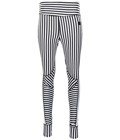 Fila Monica Tights (White/Black Stripe) Women