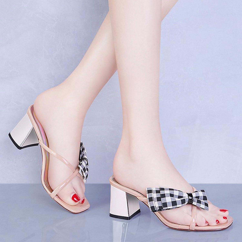 QPSSP Sandalen Und Heels, Hochhackige Sandalen, Hausschuhe, Damen - Schuhe