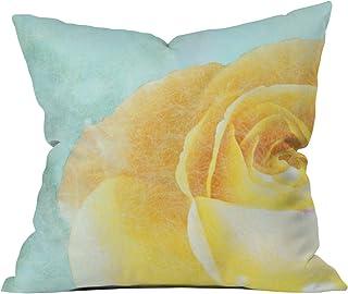 "Deny Designs Jacqueline Maldonado Promise 1 Outdoor Throw Pillow, 16"" x 16"""