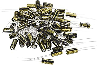 200pcs DIY 15 Capacitance Modello 0.1uF-220uF Kit di condensatori elettrolitici con scatola