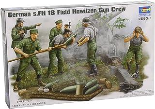 Trumpeter 425 - Figuras de Soldados alemanas disparando obuses