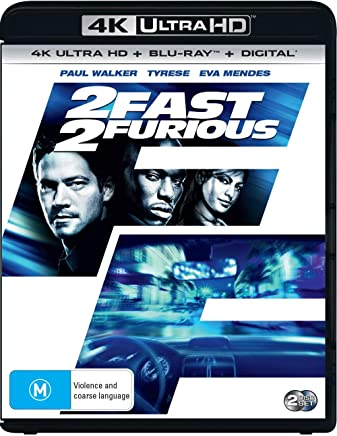 2 Fast 2 Furious (4K Ultra HD + Blu-ray + Digital )