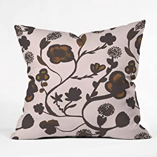 """Deny Designs Floral II Throw Pillow 16"""" x 16"""" 51738 - othrp16"""
