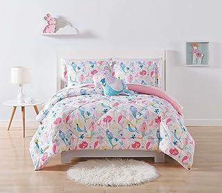 My World Twin Extra Long Mermaids 2-Piece Comforter Set, XL, Multi