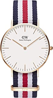 Daniel Wellington Men's Classic Canterbury, Rose Gold, 36mm