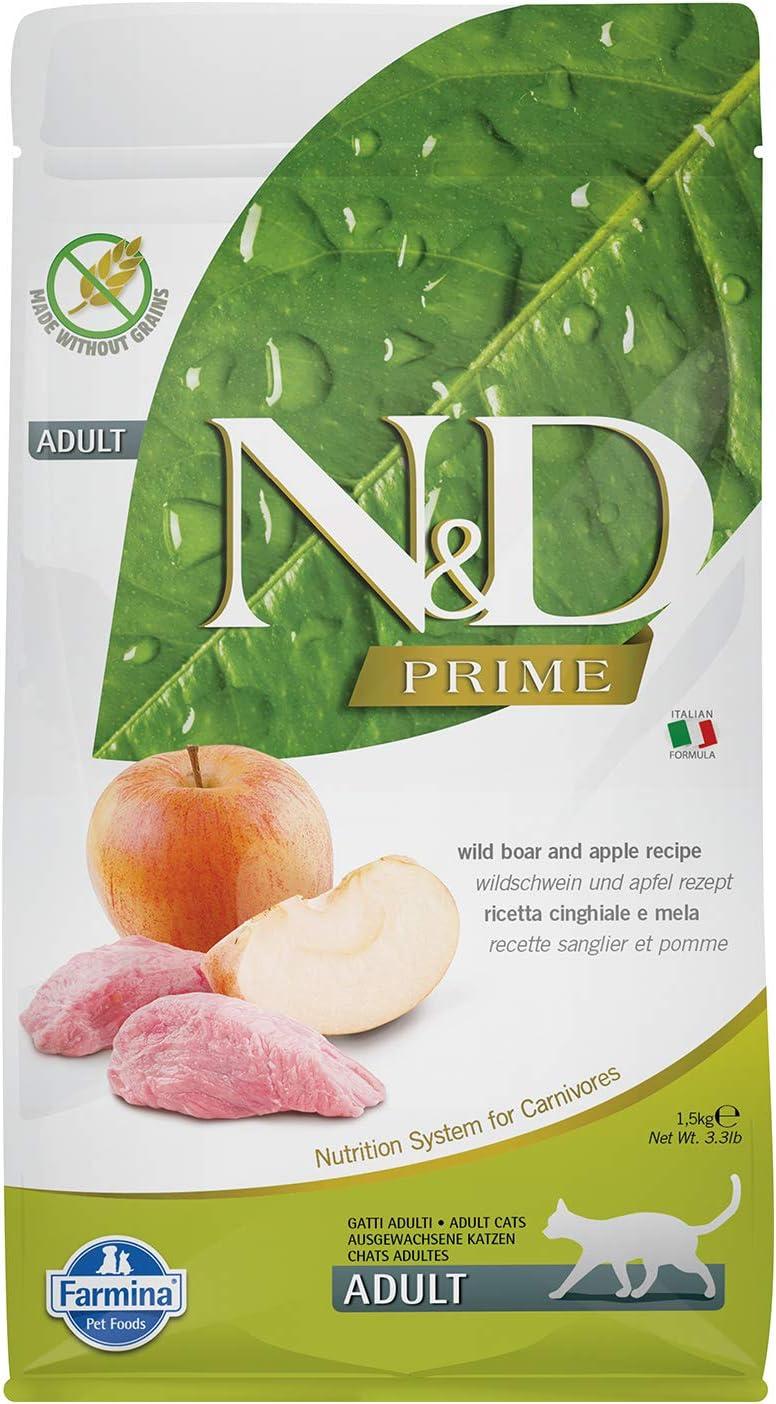 Farmina Natural And Delicious Boar Apple Grain-Free Houston Under blast sales Mall Formula