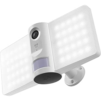 Geeni, Sentry Floodlight Security Camera with Motion Sensor, Intruder Alarm and Audio Video Recording