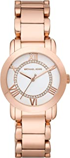 Women's s Three Hand Rose Gold-Tone Stainless Steel Watch MK3530