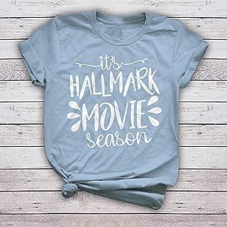 It's Hallmark Movie Season Christmas Hooded Long Sleeve Sweater Baseball Pullover Shirt Gifts for Christmas Holiday