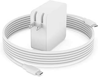 Superer 61W 65W 交換用 急速充電器 MacBook Air 13インチ(2018 2019 2020 M1 機種)、Macbook Pro 13インチ(2016 2017 2018 2019 2020 M1 機種)、MacBoo...
