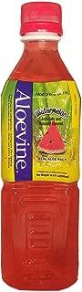 Aloevine Aloe Vera Drink (Watermelon, 16.9 oz 10 Pack)