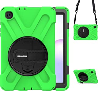 BRAECN Galaxy Tab A 8.4 Case for Kids, SM-T307U Case,Rugged Protective Shockproof Case with Carrying Shoulder Strap, Hand ...