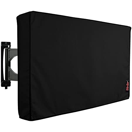 Outdoor Waterproof and Weatherproof TV Cover for 55 inch Outside Flat Screen TV