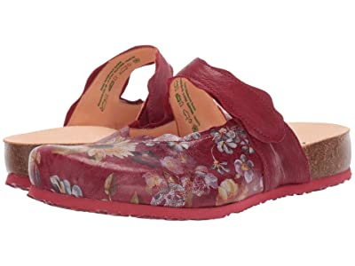 Think! Julia Mary Jane Clog 85345 (Cherry/Kombi) Women