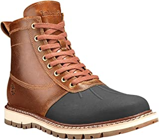 timberland britton hill waterproof moc toe boot