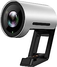 Yealink UVC30 Teams Certified Webcam 4k Web Camera 120 Degree View Desktop Webcam with Microphone 1080P HD Video Streaming...