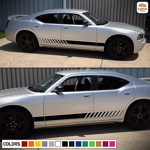 2006 07 08 09 Dodge Charger Door Stripes Decals CUSTOM