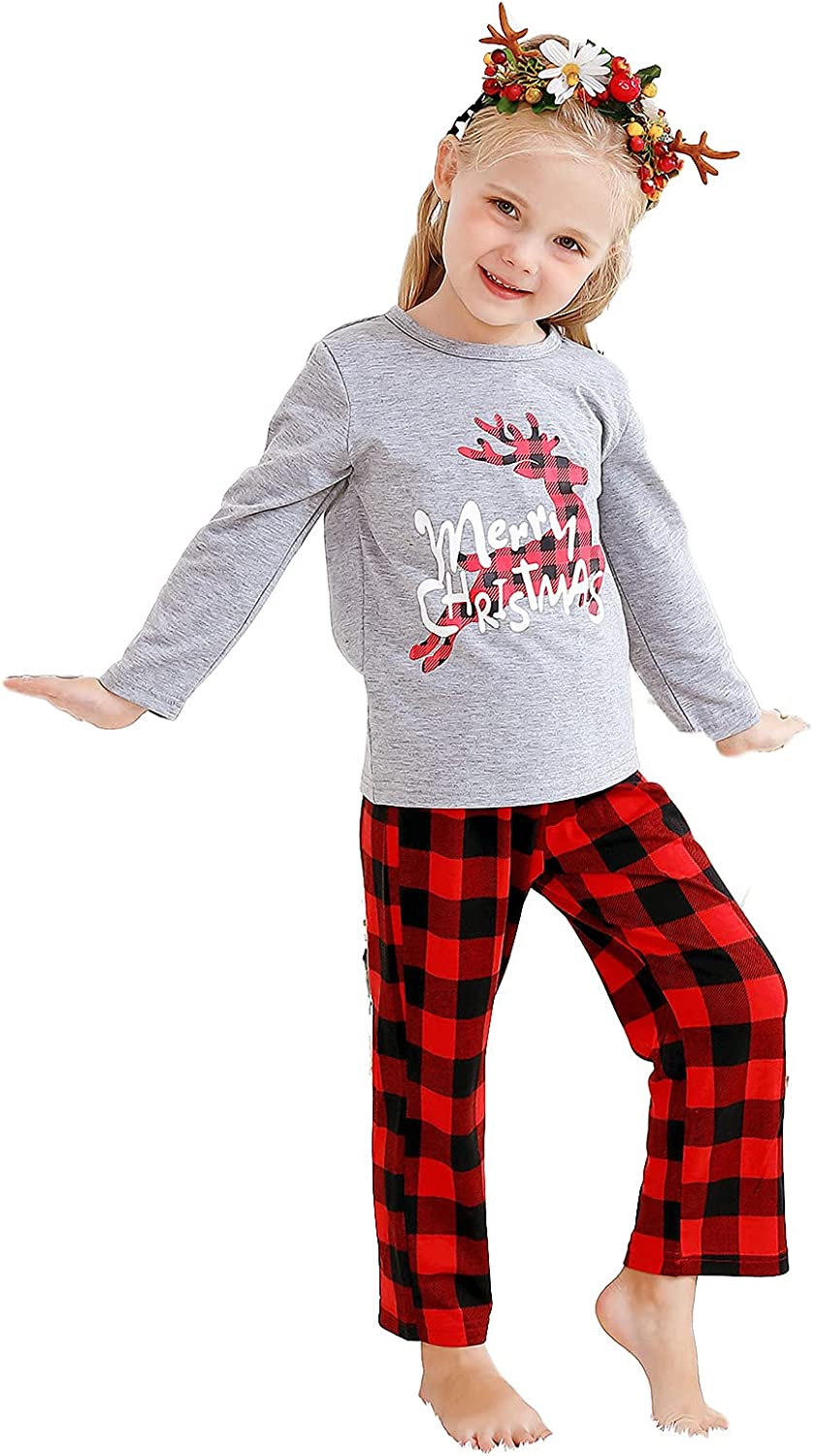 Christmas Family Matching Suits for Baby,Family Party Clothes Matching Sets for Kids