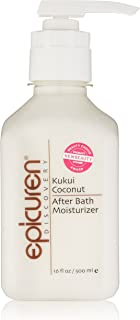 Epicuren Discovery After Bath Body Moisturizer, Kukui Coconut