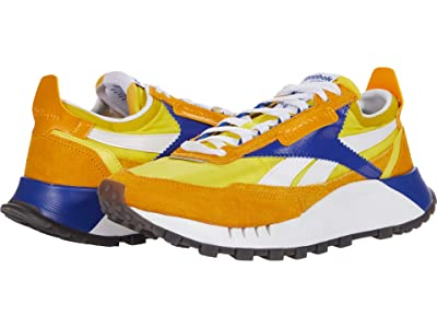 Reebok Lifestyle Classic Leather Legacy (Collegiate Gold/Bright Yellow/Team Dark Royal) Shoes