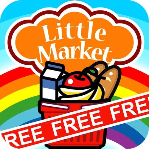 『お買い物ごっこで遊ぼう - リトルマーケット無料版』のトップ画像