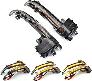2X LED Dynamische Blinker, Spiegelblinker, für Au di A4 A5 B8.5 RS3 A3 8P S5 RS4 RS5,Gelb