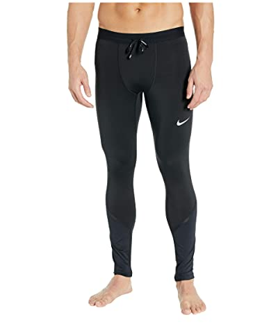 Nike Tech Power-Mobility Tights (Black/Black/Reflective Silver) Men