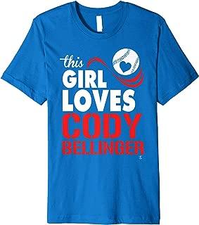 Cody Bellinger This Girl Loves T-Shirt - Apparel