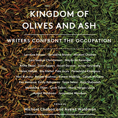Kingdom of Olives and Ash audiobook cover art