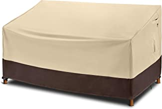 Arcedo Patio Loveseat Cover, Heavy Duty Waterproof Outdoor Sofa Cover for 2-Seater Couch, Small Durable Lawn Furniture Ben...