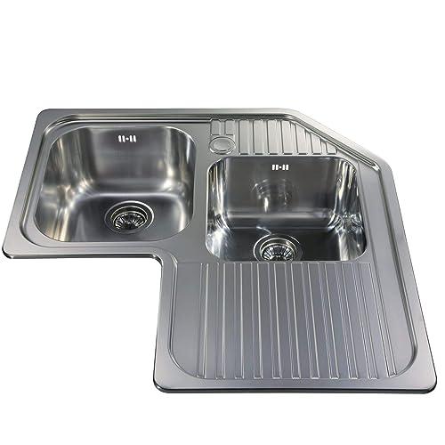 Corner Kitchen Sink Amazon Co Uk