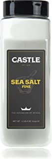 Castle Foods   SEA SALT FINE, 40 oz Premium Restaurant Quality