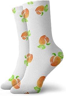 Pengyong, Pengyong calcetines casuales de color melocotón, transpirables, para correr, entrenamiento, deportes, caminar, para hombres y mujeres