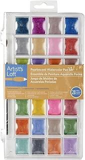 Artist's Loft Fundamentals Pearlescent Watercolor Pan Set