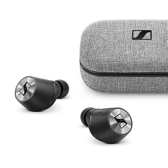 Sennheiser Momentum True Wireless in-Ear Bluetooth Headphone with Multi-Touch Fingertip Control (Black)