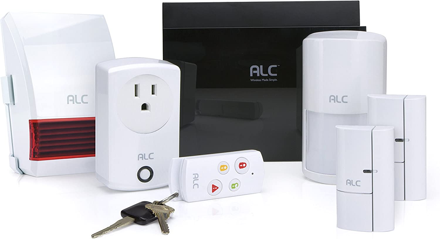 ALC AHS616 low-pricing Connect Home Max 48% OFF Wireless System DIY Self Security Monito