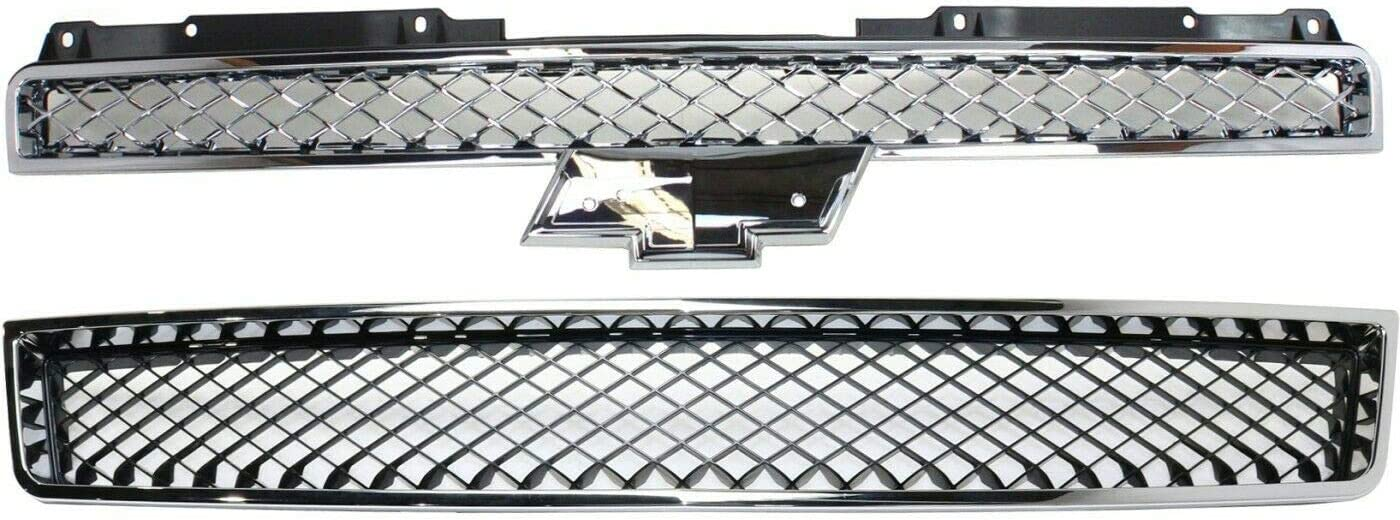 Milwaukee Mall ZDK Grille Compatible with Crew Cab 1500 Pickup Large special price !! 25 Utility Sport