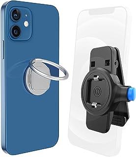 SPORTLINK スマホ ベルトクリップ 携帯 ベルトポーチリンク付き【新型】360度回転 3-6.7インチのスマホに対応 iPhone 13 mini /13/13 Pro/13 Pro Max /12/12 mini/12 Pro/12 ...