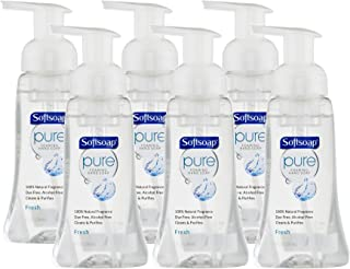 Softsoap Pure Foaming Hand Soap, Fresh, 8 Fluid Ounce (Pack of 6)