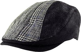 Itzu Headwear Ventair Flat Cap Hat Country Newsboy Unisex One Size in Red Grey Blue White Beige