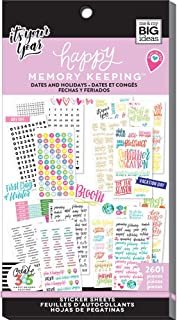 me & my BIG ideas PPSV-31-3048 The Happy Planner Value Pack Stickers