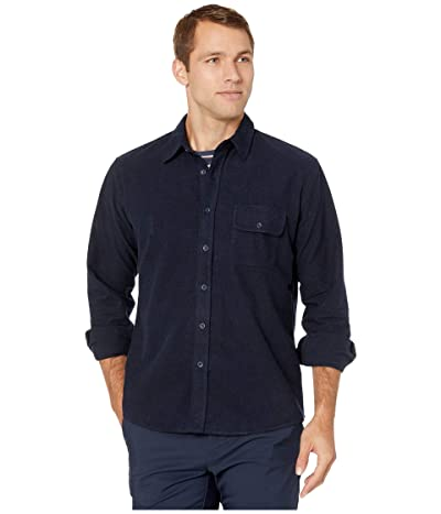 The Normal Brand Chamois Button Up Shirt (Navy) Men