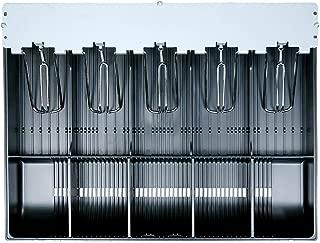 SAM4s Cash Register Drawer Insert Money Till Tray 60, 5 Bills 5 Coins Holder, Model 60, 5 x 5 with Steel Bill Arms, ER-915, ER-920, ER-925, ER-940, ER-945, ER-320, SPS-340, SPS-345