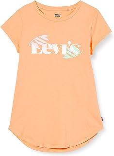 Levi's Kids Girl's LVG ROUND HEM GRAPHIC TE SHIRT C765 T-Shirt